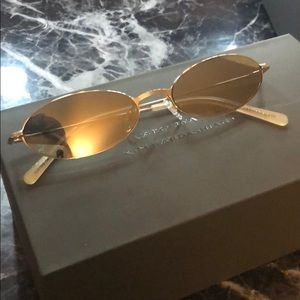 Carolina Lemke Sunglasses- Sun in Light Gold